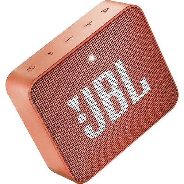 Caixa de Som JBL GO 2 Bluetooth à Prova D'água Coral Orange
