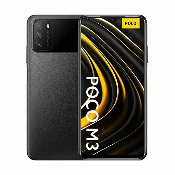 Smartphone Xiaomi Poco  M3 128GB (Power Black) Preto