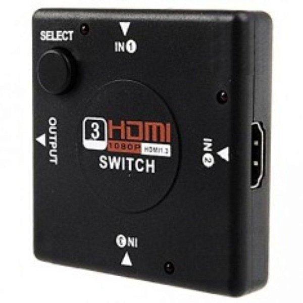 Hub Switch Hdmi 3 Em 1