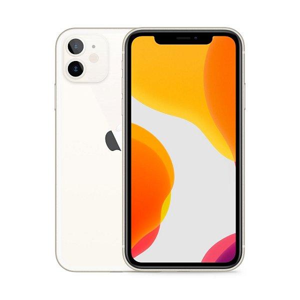 """iPhone 12 Apple 64GB Branco Pacífico 5G Tela 6,1"""" Retina Câmera Dupla 12MP + Selfie 12MP iOS 14"""