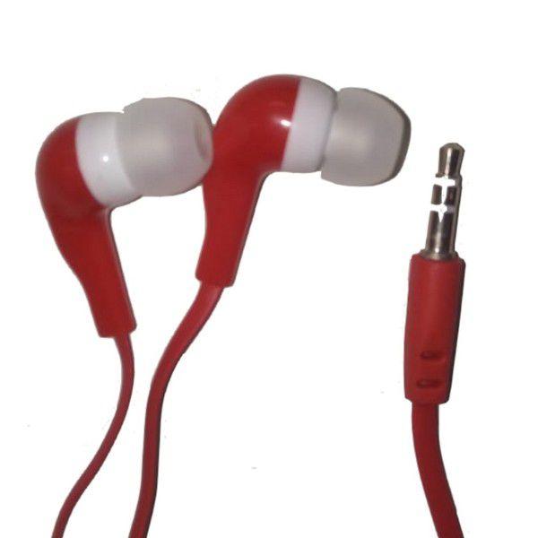 Fone de Ouvido Superbass New Vermelho - Haoqing