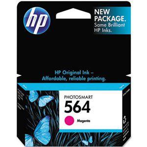 Cartucho de Tinta HP 564 ( CB319 ) Magenta 3 ml