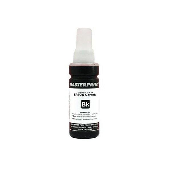 Refil de Tinta Compatível Epson T664 Black 100ml - InkTec