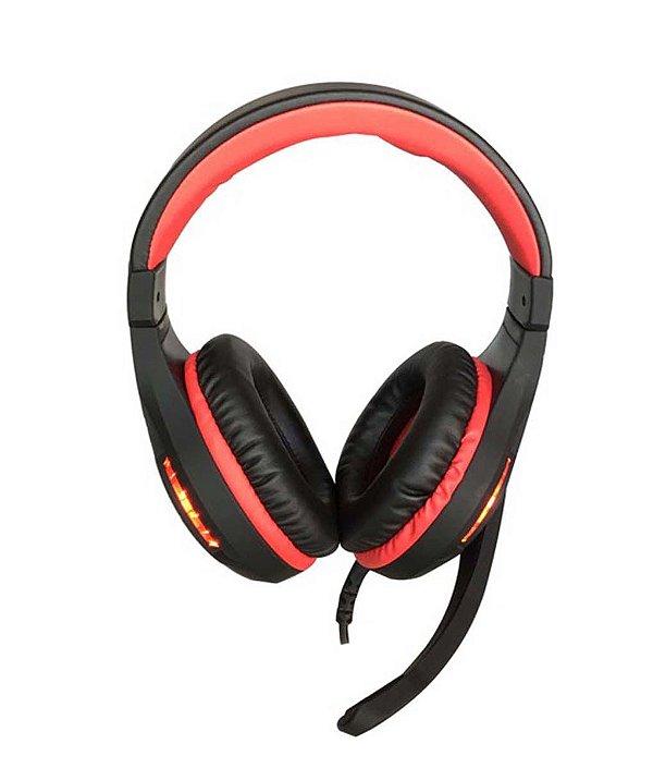 Headset Gamer HF-2205 Hayom Com Microfone e Graves Potentes