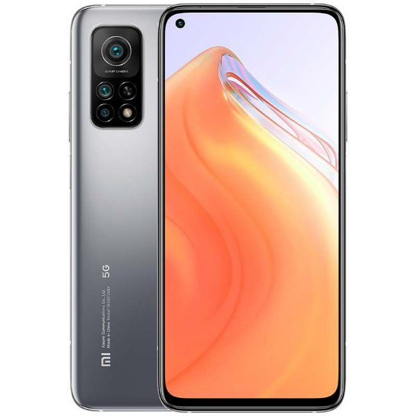 "Smartphone Mi 10T 128GB 6GB Ram 5G Dual Sim Tela 6,67"" Câmeras 64MP+13MP+5MP e 20MP (Lunar Silver), Prata - Xiaomi"