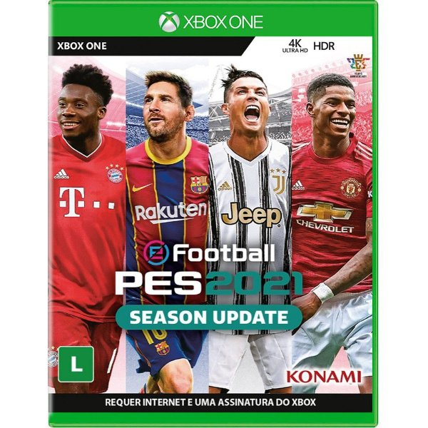 Jogo Pro Evolution Soccer 2021 Season Update – XBOX ONE