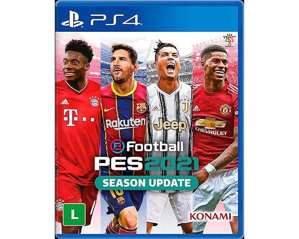 Jogo Pro Evolution Soccer 2021 Season Update - PS4