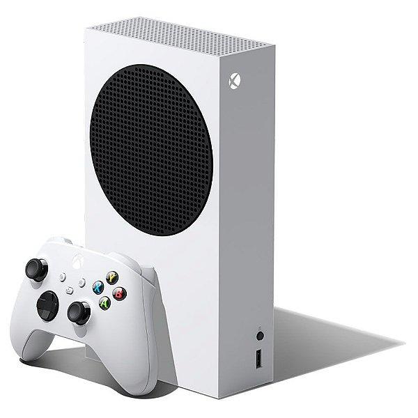 Console Xbox Series S 500gb Ssd Branco + Controle Sem Fio - Microsoft