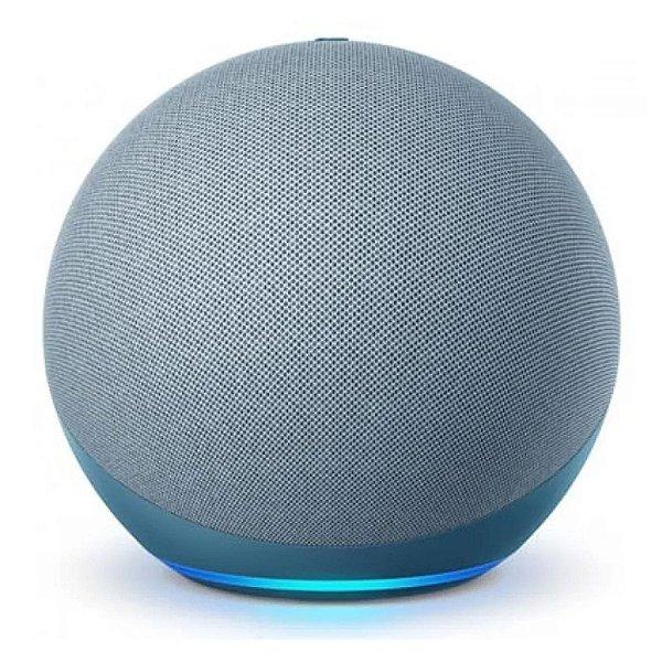 Novo Echo Dot Smart Speaker Com Alexa (4ª Geração)  Azul - Amazon
