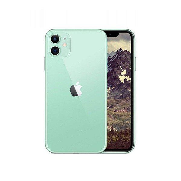 """iPhone 11 Verde, com Tela de 6,1"""", 4G, 64 GB e Câmera de 12 MP - Apple"""