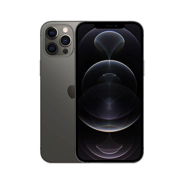"""iPhone 12 Pro Max, Grafite, com Tela de 6,7"""", 5G, 128 GB e Câmera Tripla de 12MP - Apple"""
