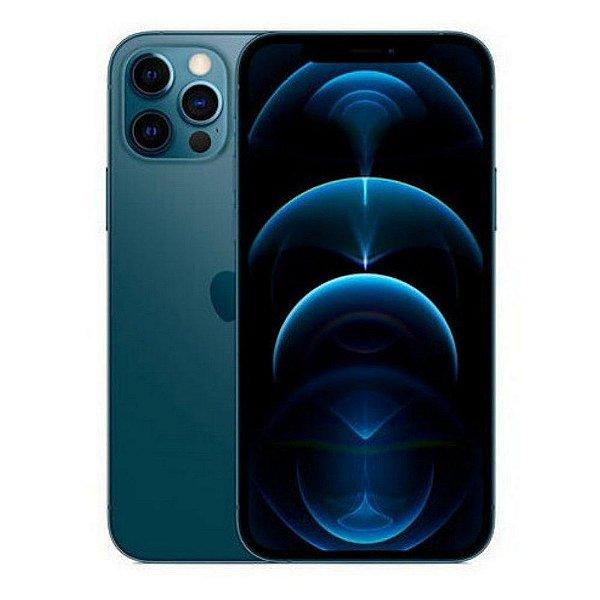 """iPhone 12 Pro Max, Azul Pacífico Com Tela de 6,7"""", 5G, 128 GB e Câmera Tripla de 12MP - Apple"""