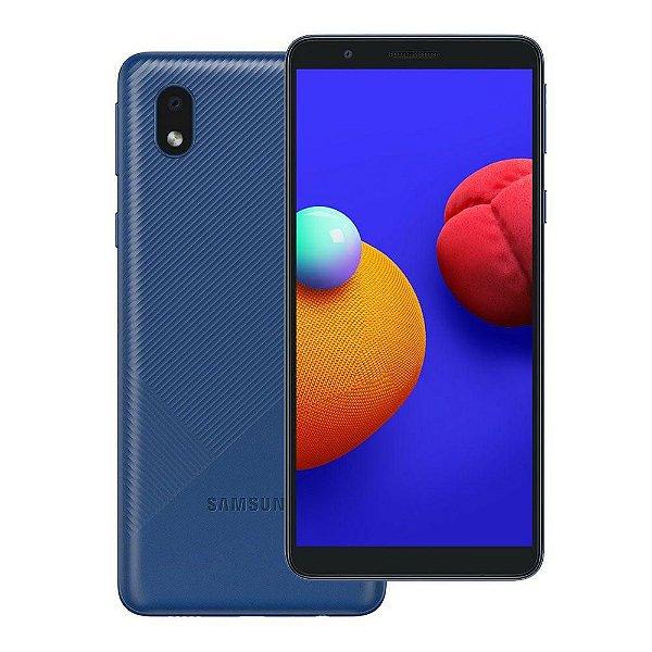 """Smartphone Galaxy A01 Core Tela Infinita de 5.3"""", 2 GB RAM, 32GB, Câmera 8MP Azul - Samsung"""