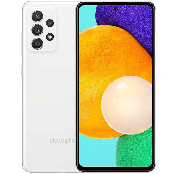 """Smartphone Galaxy A52, Octa Core, 128GB, 6GB de Memória RAM, Câmera de 64MP, Tela de 6,5"""", Branco - Samsung"""