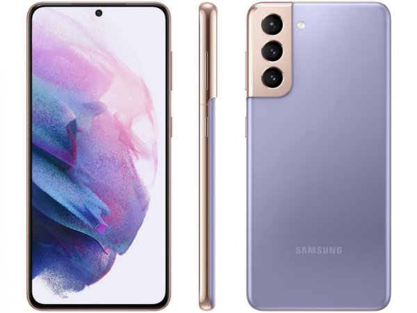 """Smartphone Galaxy S21+ Violeta, com Tela Infinita de 6,7"""", 5G, 128GB e Câmera Tripla de 12MP + 64MP + 12MP - SM-G996BZKJZTO"""
