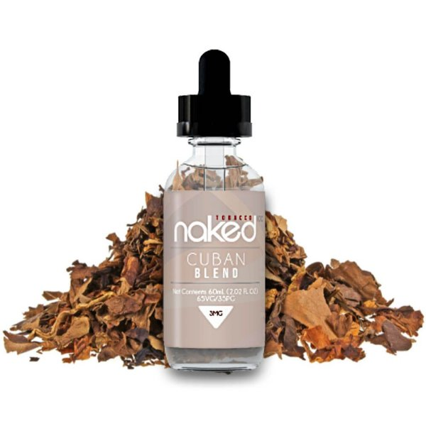 Líquido Naked 100 - Cuban Blend (Tabaco)