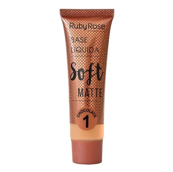 Base Líquida Soft Matte Chocolate - Ruby Rose