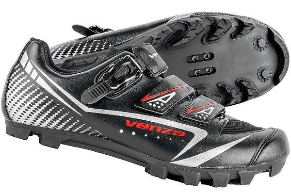 Sapatilha Venzo Ciclismo Mtb / Trava e Velcro