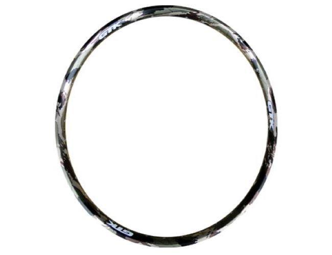 Aro 26 Gtk 36f Alumínio Camuflado Marrom 36 Furos