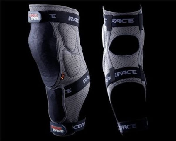 Joelheira Race Face Flank Leg Slate - XL