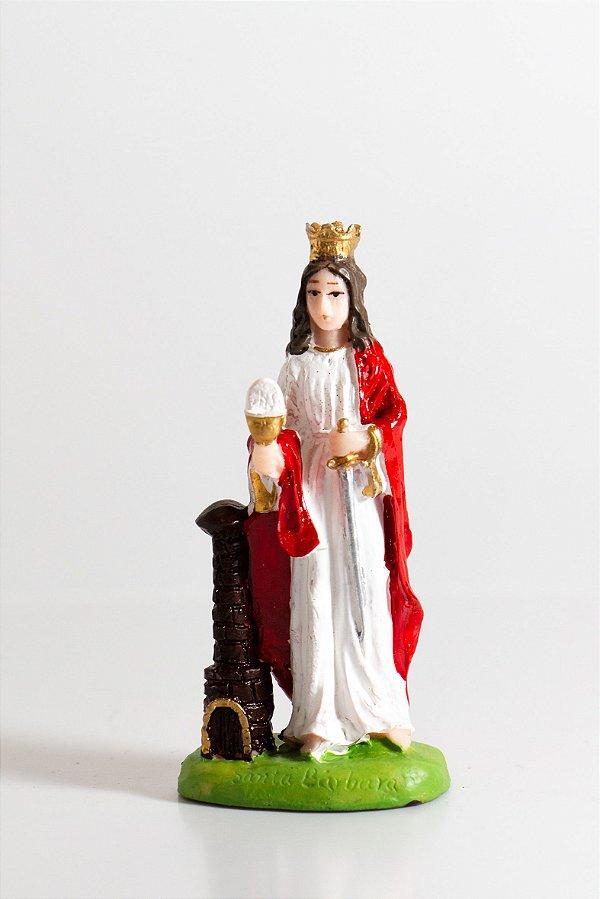 Santa Bárbara 7cm