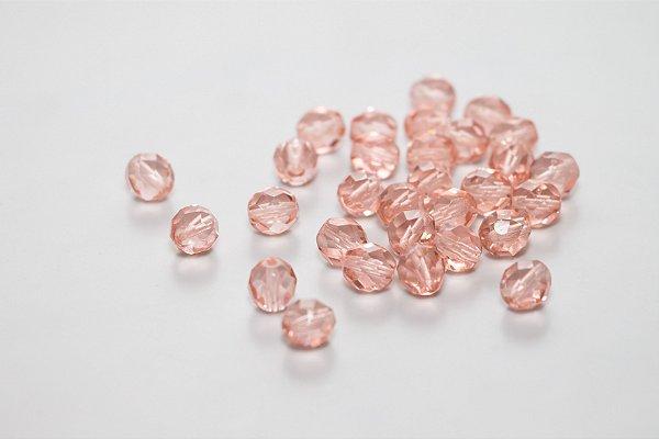 Conta de Cristal Rosa