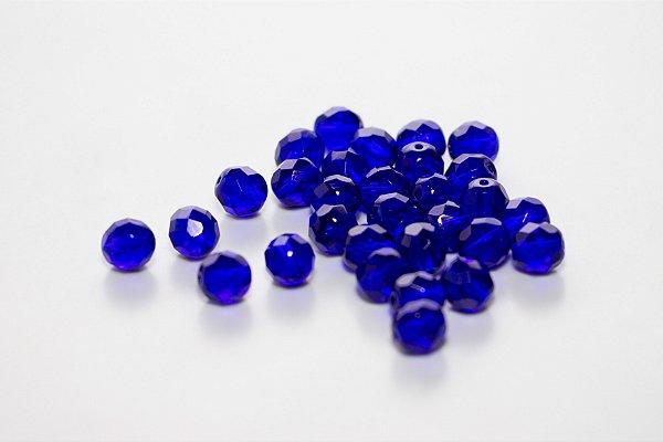 Conta de Cristal Azul Escuro