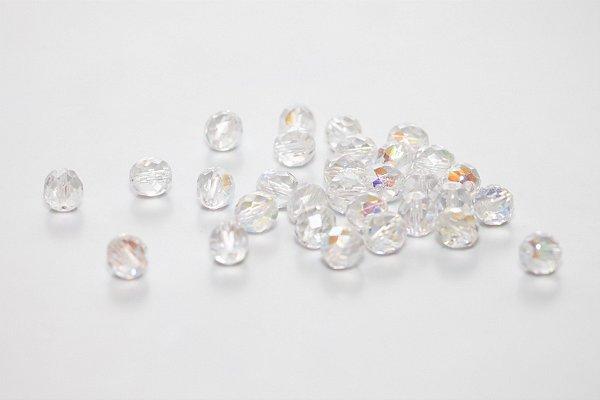 Conta de Cristal Transparente