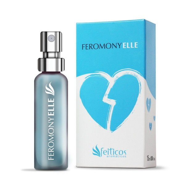 Perfume Afrodisíaco Masculino Feromony Elle - 15ml