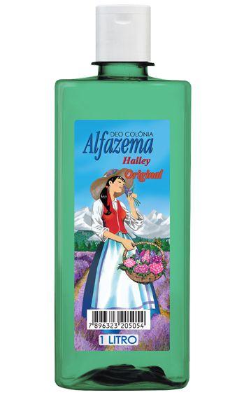 Deo Colônia Alfazema Halley Original - 1 Litro