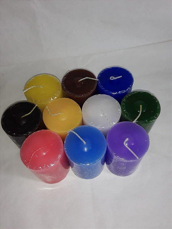 Velas Coloridas - 3 dias