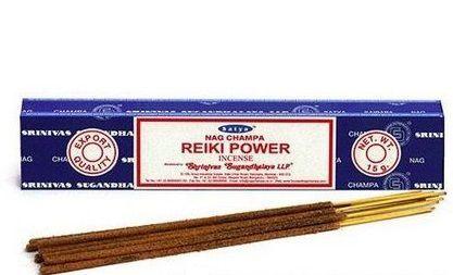Incenso Reiki Power - Satya Nag Champa (caixa c/ 12 a 15 varetas)