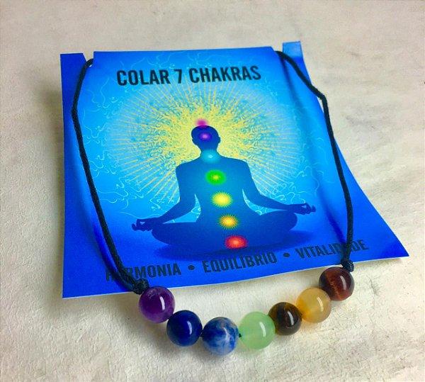 Colar 7 Chakras
