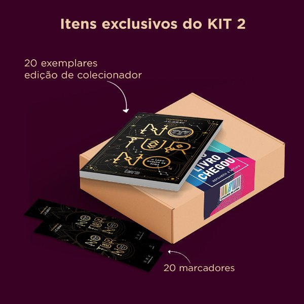NOTURNO - KIT ATACADO 20 LIVROS