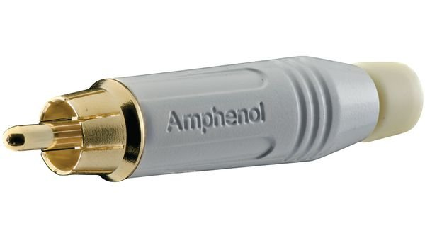 RCA MACHO BRANCO Amphenol ACPR-WHT