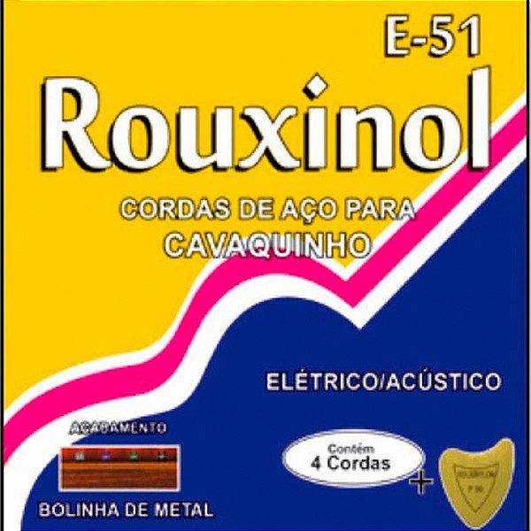 Encordoamento ROUXIONOL cordas para cavaquinho R-51