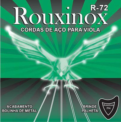 Encordoamento ROUXINOX cordas para Viola R-72