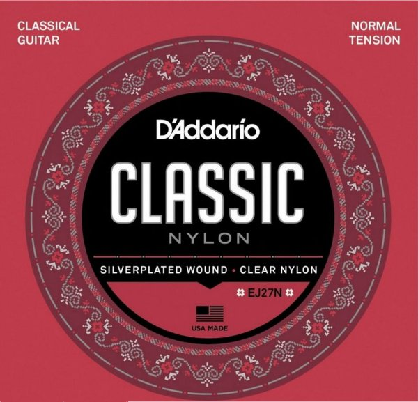 Encordoamento D'addario EJ27N - NORMAL TENSION