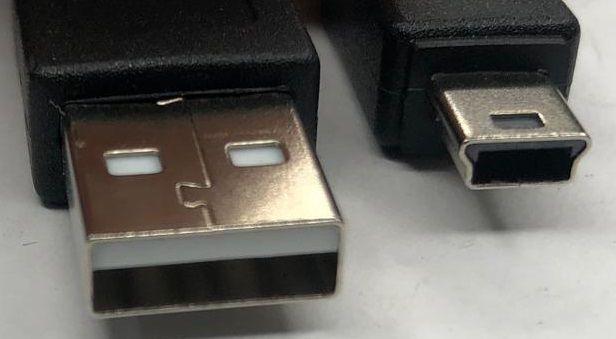 Cabo USB x USB Mini 1,8 Mts