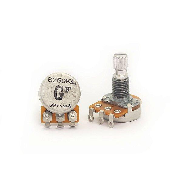Potenciômetro corpo pequeno T16-18K Gotoh