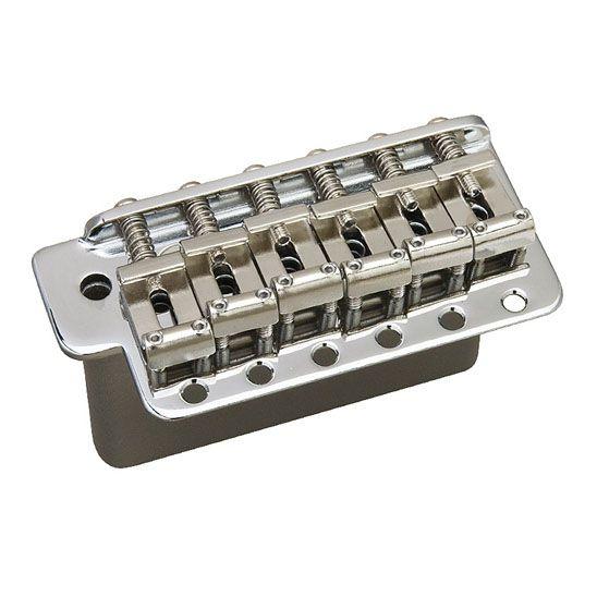 Ponte tremolo para guitarra Fender® Stratocaster cromado 6 parafusos Gotoh® GE101T-C