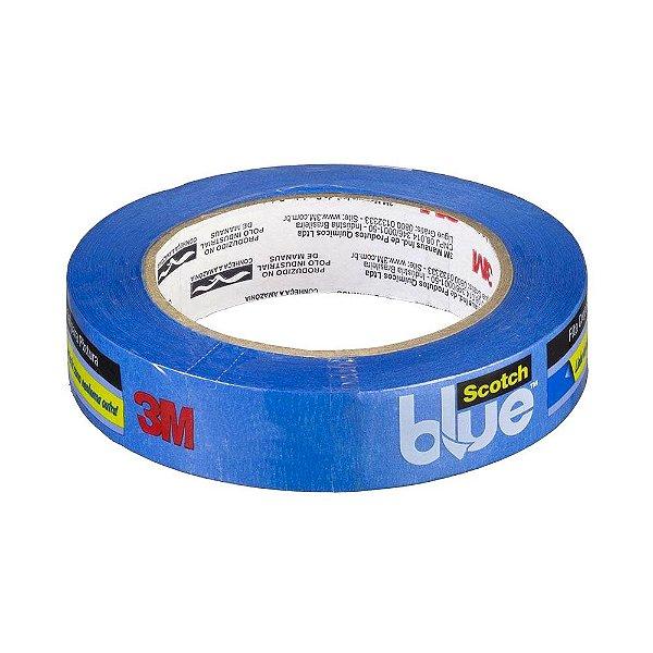 Fita Crepe Azul Profissional 3M Scotch® Blue - Unidade