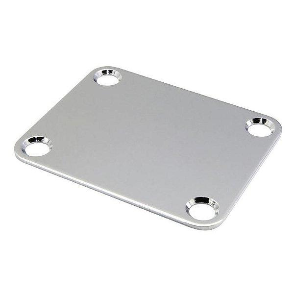 Placa de junção (Neck plate) para guitarra ou baixo Gotoh® NBS-3-C sem parafusos