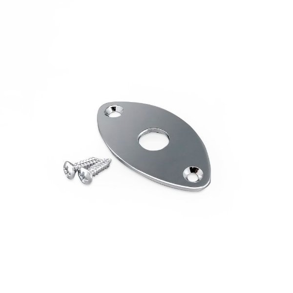 Placa (Jack Plate) Oval Cromada Gotoh® Jcb-2
