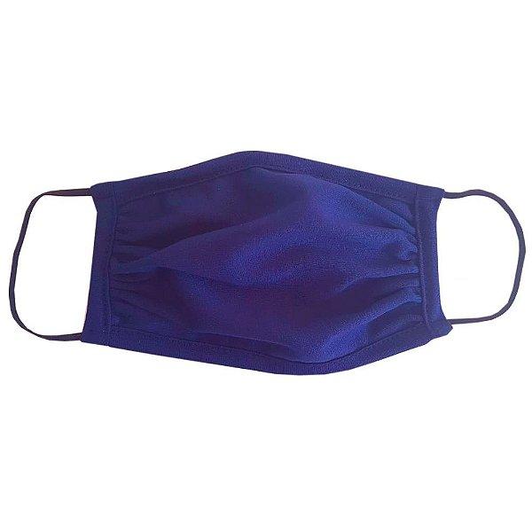 Máscara de Tecido Unissex de Elástico - Azul Marinho