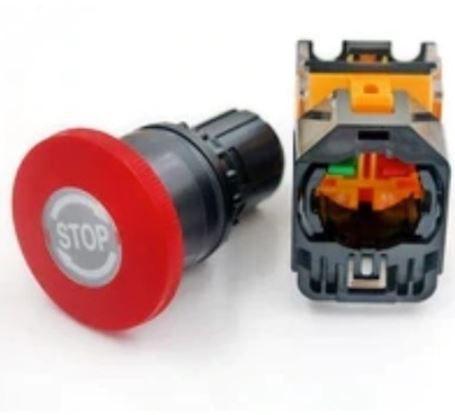 Botão de emergência pra máquinas de corte a laser
