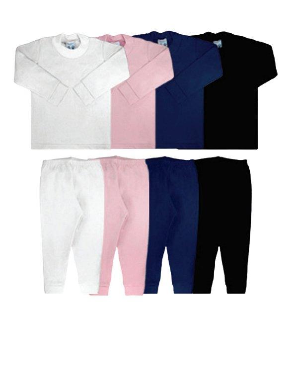 Conjunto Térmico  Infantil Blusa e Calça