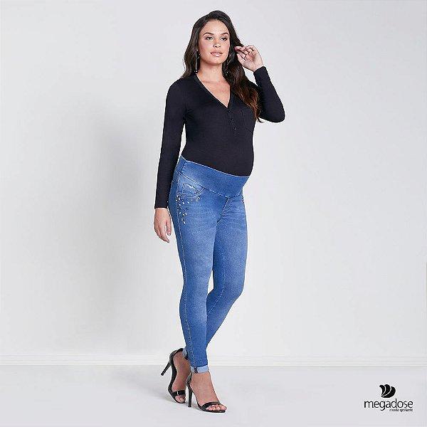 Calça Jeans Gestante  Skinny MARTINA