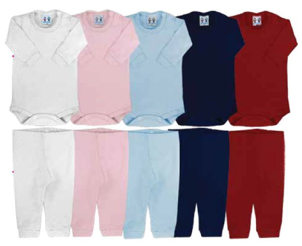 Conjunto Calça e Body Bebê Térmico