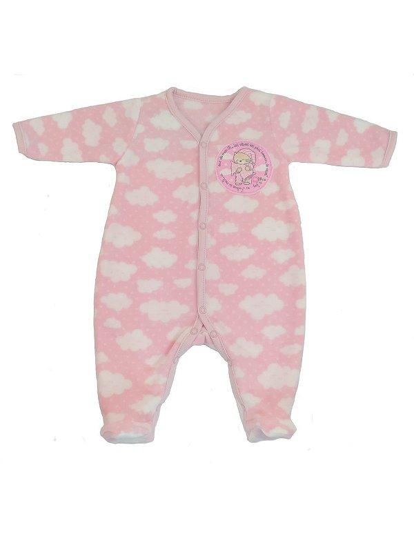 Macacão Pijama Bebê Microsoft Nuvenzinhas